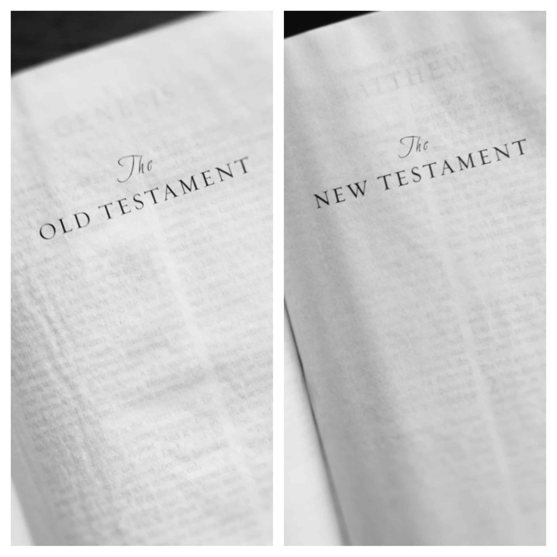 the old testament is the new It is important to understand the fullness of god's message to the churches, and a great way of doing this is reading the old and new testaments simultaneously.